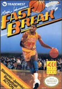 Magic Johnson's Fast Break - NES Game