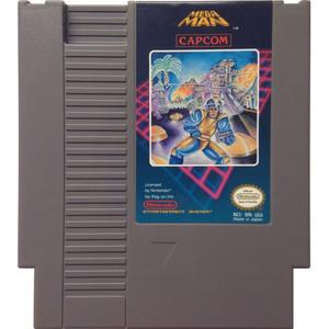 Mega Man Nintendo NES video game cartridge image pic