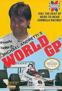 Michael Andretti's World GP - NES Game