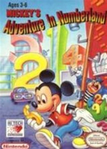 Mickey's Adventure in Numberland - NES Game