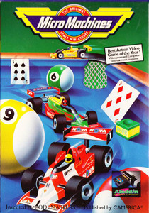 Micro Machines - NES Game