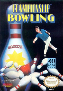 Championship Bowling - NES Game