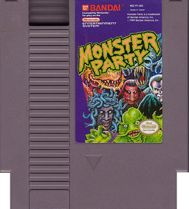 Monster Party - NES Game