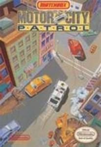 Motor City Patrol (Matchbox) - NES Game