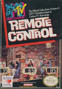 MTV Remote Control - NES Game