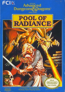 AD&D  Pool of Radiance - NES Game