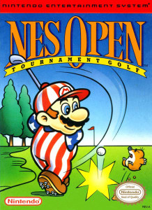 NES Open Tournament (Mario Golf) - NES Game