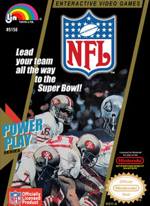 NFL Football - NES Game