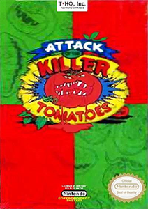 Attack of the Killer Tomatoes - NES Game