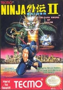 Ninja Gaiden II(2) Nintendo NES video game box art image pic