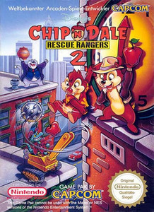 Chip N' Dale Rescue Rangers 2 - NES Game