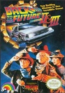 Back To the Future II 2 & III 3 - NES Game