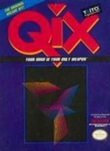 Qix - NES Game