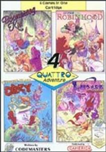 Quattro Adventure(4 in 1) - NES Game