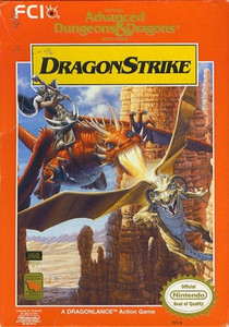AD&D DragonStrike - NES Game