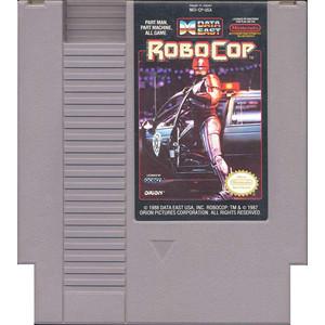 Robocop Nintendo NES game cartridge image pic
