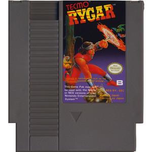 Rygar Nintendo NES video game cartridge image pic
