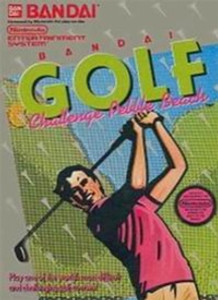 Bandai Golf Pebble Beach - NES Game