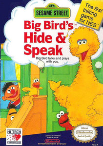 Sesame Street Big Bird's Hide and Speak - NES Game