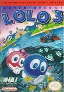 Adventures of Lolo 3 - NES Game