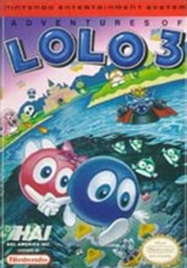 Adventures of Lolo 3 - NES Game