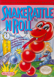 Snake Rattle N Roll - NES Game