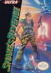 Snake's Revenge Metal Gear 2 - NES Game
