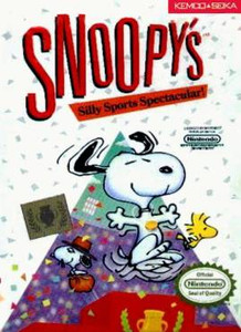 Snoopy's Silly Sports Spectacular - NES Game