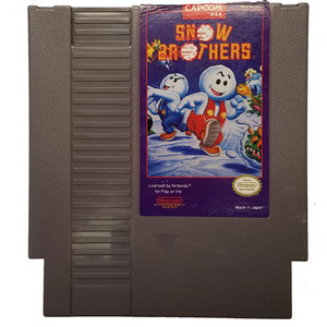 Snow Brothers - Nintendo NES Game Cartridge