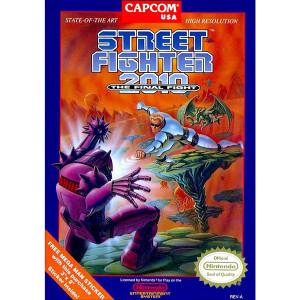 Street Fighter 2010 Video Game For Nintendo NES