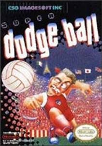 Super Dodge Ball Nintendo NES Game box image pic