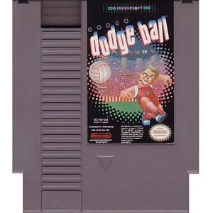 Super Dodge Ball Nintendo NES Game cartridge image pic