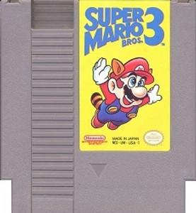 Buy Super Mario Bros. 3 Nintendo NES game cartridge