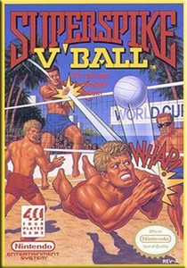 Super Spike V'Ball - NES Game