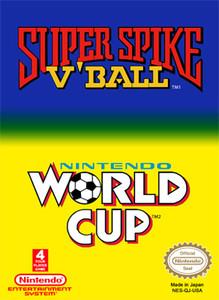 Super Spike V'Ball/NES World Cup - NES Game