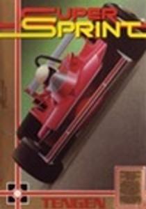 Super Sprint Racing - NES Game