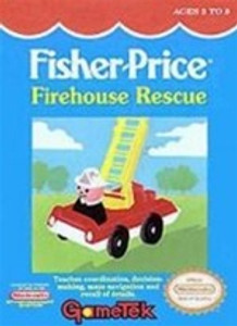 Fisher-Price:Firehouse Rescue - NES Game