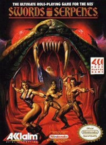 Swords and Serpents - NES Game