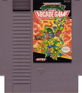 TeenageMutant Ninja Turtles II TMNT 2 Nintendo NES game cartridge image pic