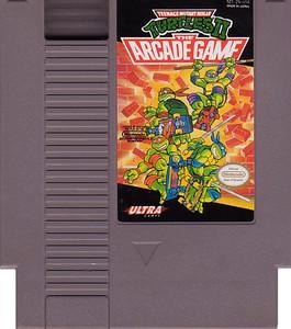 TeenageMutant Ninja Turtles II TMNT 2 Nintendo NES game cartridge image pic