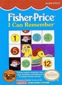 Fisher-Price Remember - NES Game