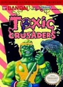 Toxic Crusaders - NES Game