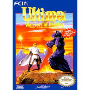 Ultima: Warriors of Destiny - NES Game