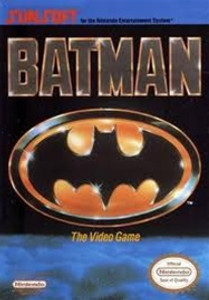 Batman Nintendo NES game box image pic