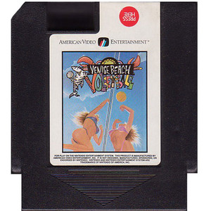 Venice Beach Volleyball - NES Game
