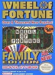Wheel of Fortune Family Edition - NES Game