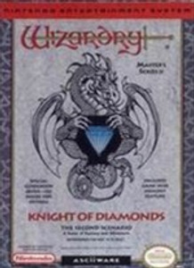 Wizardry 2:Knight of Diamonds - NES Game