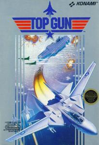 Top Gun Nintendo NES game box art image pic