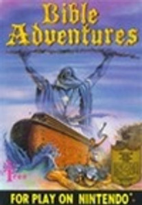 Bible Adventures - Black - NES Game