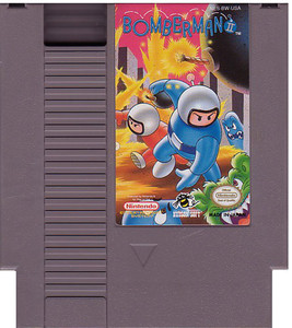 Bomberman II (2) NES game cartridge